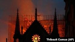 Пожар в Соборе Парижской богоматери, 15 апреля 2019 года