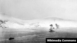 Морское сражение возле Нарвика (Норвегия)