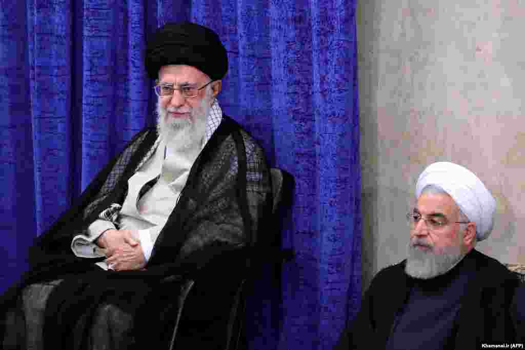 ИРАН - Иранскиот Врховен лидер ајатолахот Али Хамнеи изјави дека нема да има војна со САД. Според него, мерењето на силите меѓу Техеран и Вашингтон повеќе е начин да се тестира решителноста на секој од нив отколку да има воен судир.