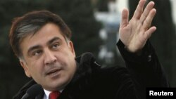 Президент Грузии Михаил Саакашвили, Тбилиси, 23 ноября 2011