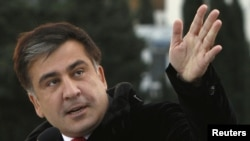 Михаил Саакашвили рассказывал о достижениях возглавляемого им государства