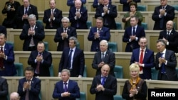 Москва радуется, Совет Федерации хлопает