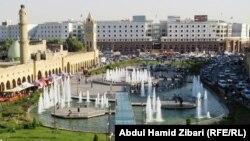 منظر لمدينة اربيل