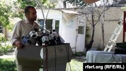 مجیب خلوتگر رئیس اجرائیه اداره حمایت کنندۀ رسانههای آزاد افغانستان