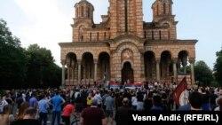 U Beogradu skup podrške sveštenstvu SPC u Crnoj Gori