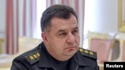 Новый министр обороны Украины Степан Полторак.