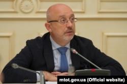 Віцепрем'єр-міністр України, міністр з питань реінтеграції тимчасово окупованих територій Олексій Резніков