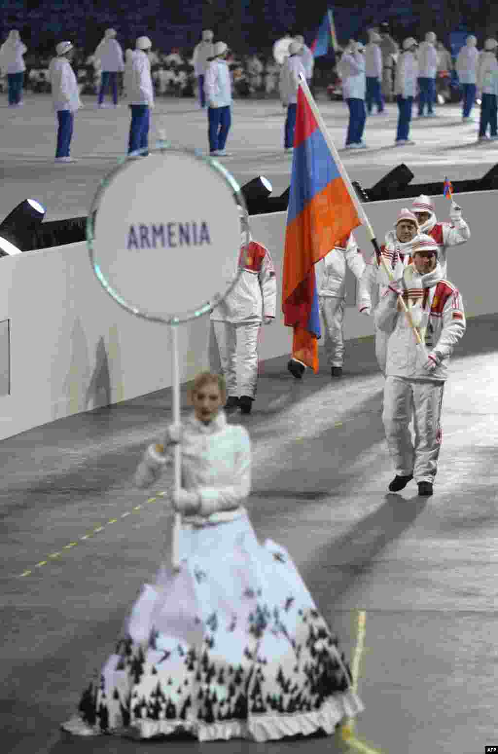 Neighboring Armenia offers cash awards of $30,000 for gold medals, $20,000 for silvers, and $10,000 for bronzes. Neither Azerbaijan nor Armenia medaled at the last Winter Olympics.