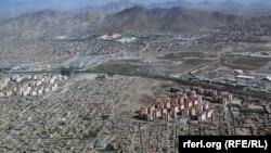 نمای از شهر کابل
