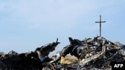 "Обломки самолета ""Малазийских авиалиний"""