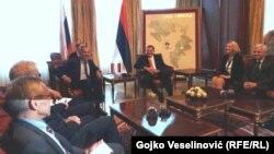 Sastanak delegacija RS i Rusije