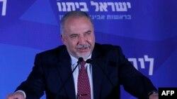 Lider izraelske nacionalističke stranke Izrael naš dom Avigdor Liberman