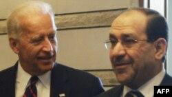 صورة من لقاء سابق بين بايدن والمالكي