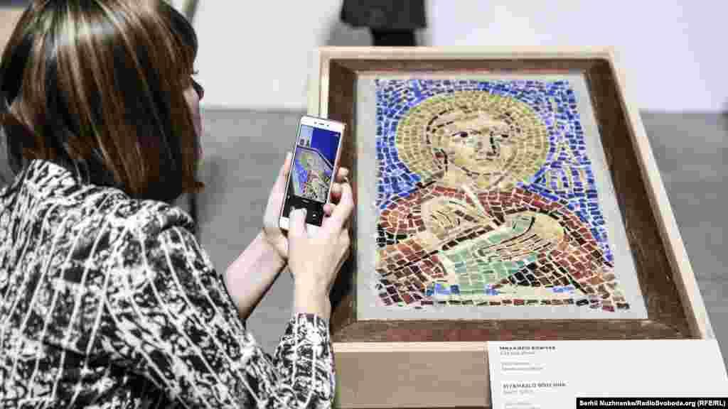 Мозаїка «Святий Йоан» – Михайло Бойчук, 1910 рік