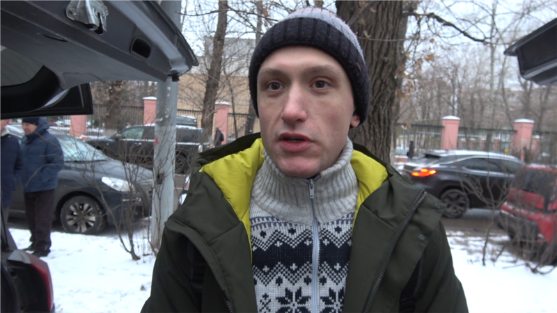 Four-Year Prison Term Upheld For Peaceful Russian Protester