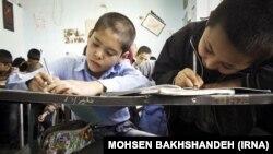 یکی از مدارس خودگردان دانشآموزان افغان در ایران