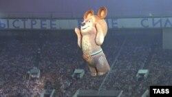 Открытие Олимпиады в Москве в 1980 году. Иллюстративное фото.