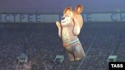 Москва, Лужники, закрытие Олимпиады-80. Запад бойкотировал ее из-за войны в Афганистане, СССР ответил бойкотом Олимпиады-84 в Лос-Анджелесе