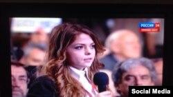 ATR jurnalisti Safiye Ablâyeva Vladimir Putinge sual bere