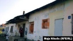 Kuća jedne od siromašnih porodica u Tuzli, septembar 2010.