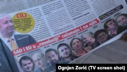 Text of serbian tabloid Informer where activists and journalists are called traitors
