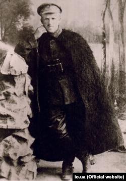 Юрій Тютюнник – повстанський отаман і генерал-хорунжий Армії УНР, керівник Партизансько-повстанського штабу та командувач Української повстанської армії в Другому зимовому поході 1921 року. Фото 1920 року