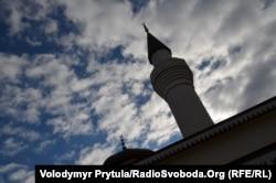 Мечеть, що будується
