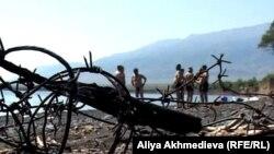 Алматы облысындағы жергілікті туристер баратын Алакөлдің жағажайы. (Көрнекі сурет)
