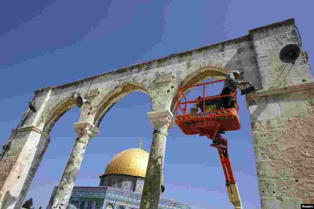 Иерусалим. Верующие готовятся к священному месяцу Рамадан