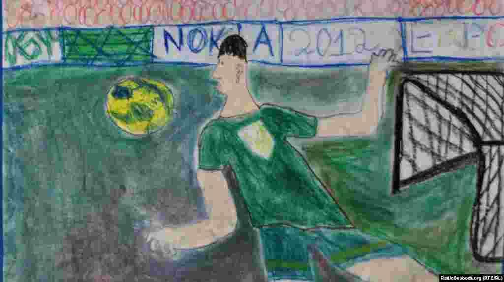 «Зірка футболу», Роженко Марат, 8 років