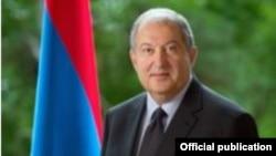 Президент Армении Армен Саркиян (архив)