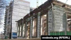 Дом № 17 па Валатаўской — не ўстаяў