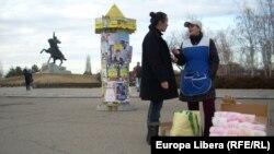 Тирасполь в день голосования