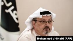 Саудовский журналист Джамаль Хашогги.