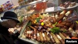 Prodaja mesnih proizvoda, ilustrativna fotografija
