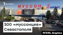 300 «муссонцев». Севастопольцы осадили прокуратуру, требуя открыть торговый центр   Радио Крым.Реалии