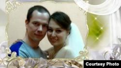 Анастасия Зотова и Ильдр Дадин после свадьбы в московском СИЗО