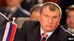 Russian Deputy Prime Minister Igor Sechin (file photo)