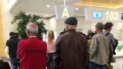 Häkimiýetler ýurda dolanýan raýatlardan walýutalaryny aeroportda resmi kursdan manada öwürmeklerini talap edýär