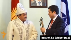 Бишкек шаар башчысы Албек Ибраимов.