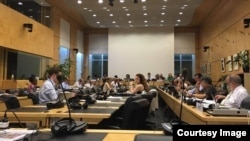 У Комітеті ООН обговорюють дискримінацію кримських татар та українців в Криму. Женева, 3 серпня 2017 року