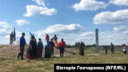 Відкриття інформаційної стели в Дівошині Житомирської області, 19 червня 2019 року