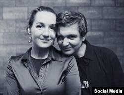 Ганна Вольская і Лявон Вольскі, 2015