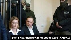 Засідання з обрання запобіжного заходу колишньому народному депутатові Миколі Мартиненку. Київ, 21 квітня 2017 року
