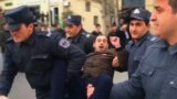 Azerbaijani Police Disperse Postelection Protest