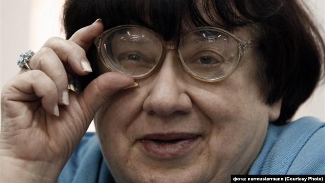 Russian dissident and activist Valeria Novodvorskaya (undated)