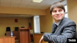 Иван Большаков в зале суда 25 декабря 2008 года