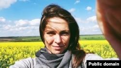 Анастасія Леонова (фото з її сторінки у Фейсбук)