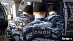 Бойцы ОМОН, архивное фото