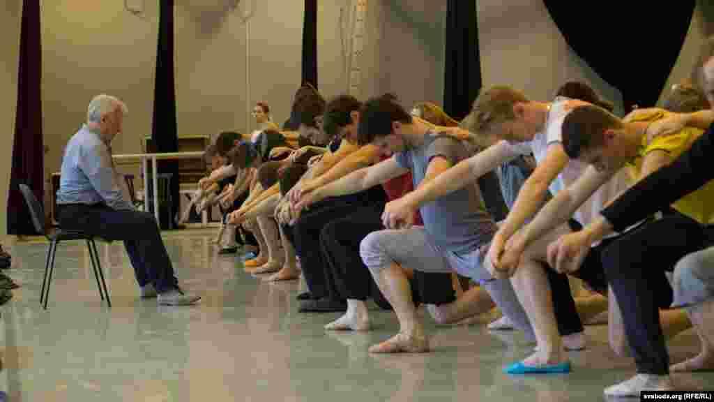 Рэпэтыцыя балету «Вітаўт»